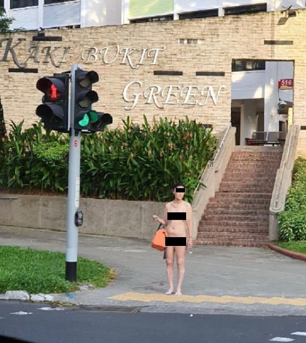 Liên tục xuất hiện nam thanh nữ tú trần như nhộng trên đường phố Singapore trong thời gian giãn cách - Ảnh 3.