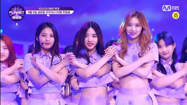 Mỹ nữ lai giữa 2 thành viên TWICE nổi bật hẳn giữa 99 cô gái trong show thực tế mới của Mnet - Ảnh 2.