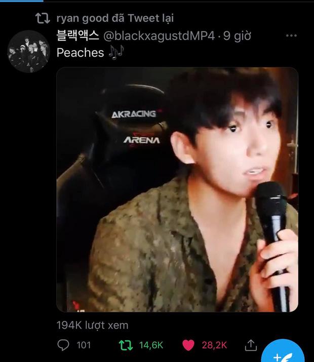 Jungkook (BTS) mở concert online hát đủ thứ nhạc khuấy đảo mạng xã hội, leo hẳn top trending thế giới - Ảnh 6.
