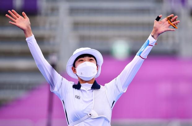 Cung thủ Hàn Quốc giành HCV thứ 3 ở Olympic Tokyo 2020 - Ảnh 1.