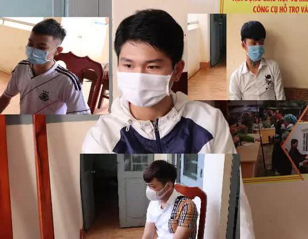 Bình Phước: Bốn thanh, thiếu niên livestream khi đang nhậu bị mời lên công an làm việc - Ảnh 1.