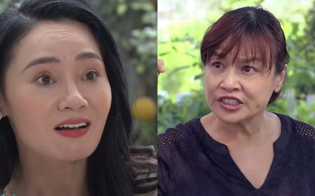 Clip: Bà Xuân (Hương Vị Tình Thân) tiết lộ bị cộng đồng mạng lao vào chửi, thừa nhận bà Bích ngày càng đáng yêu - Ảnh 4.