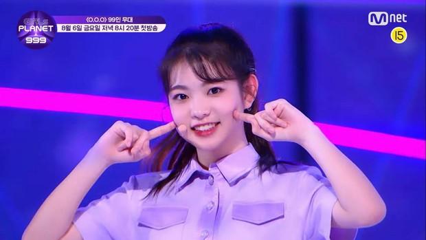Mỹ nữ lai giữa 2 thành viên TWICE nổi bật hẳn giữa 99 cô gái trong show thực tế mới của Mnet - Ảnh 5.