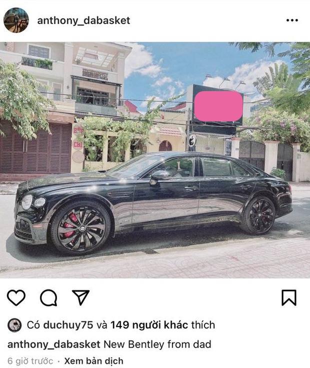 Đại gia Đức Huy rước Bentley giá trên dưới 30 tỷ để dành chở con trai đi chơi, khẳng định độ giàu có khủng khiếp - Ảnh 2.