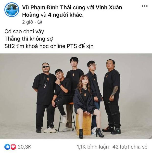 Anh em chí cốt của Vinh Râu ngầm lên tiếng, khi bị tố hùa nhau tấn công Lương Minh Trang sau tuyên bố ly hôn? - Ảnh 2.