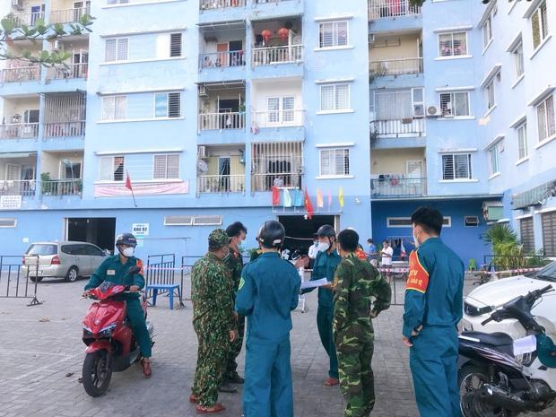 7 khu chung cư tại 1 phường ở Đà Nẵng bị phong tỏa do Covid-19 - Ảnh 1.