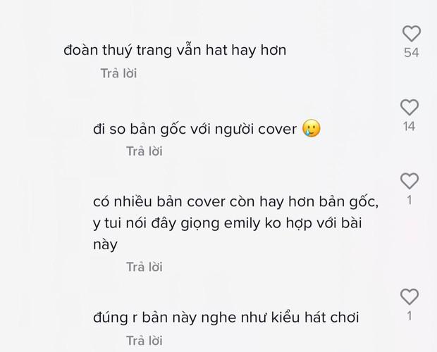 Emily hát thay thế nữ ca sĩ làm nên hit lớn cùng ông xã BigDaddy nhưng bị netizen chê không hay bằng bản gốc - Ảnh 5.