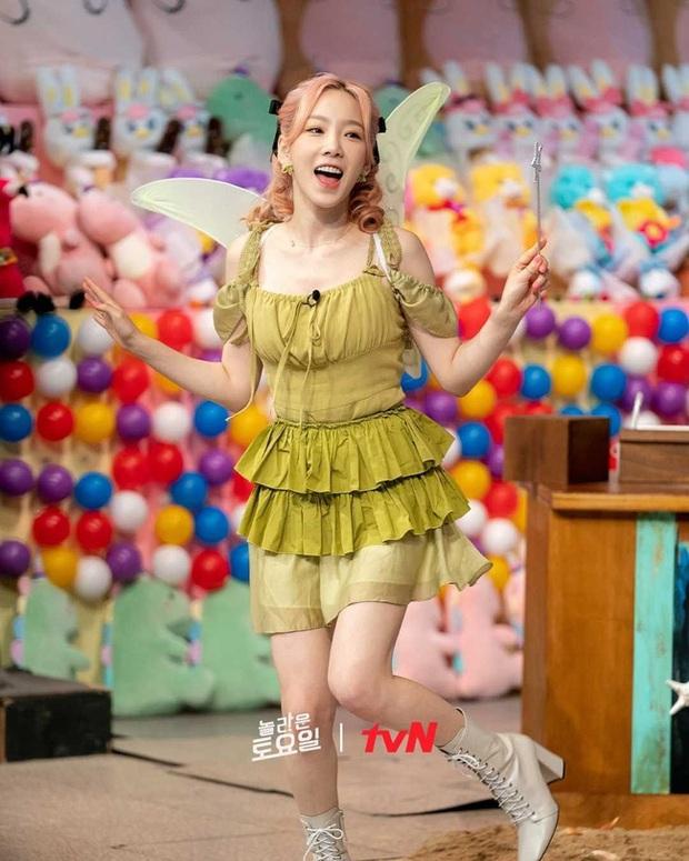 Với chiếc váy này, Taeyeon sẽ chỉ đem đến ác mộng chứ chẳng phải những điều ước của 1 bà tiên thực thụ - Ảnh 1.