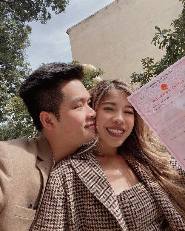 Changmakeup khoe bụng bầu vượt mặt sau 6 tháng chốt cưới, nhan sắc rạng rỡ gây chú ý chẳng kém - Ảnh 5.