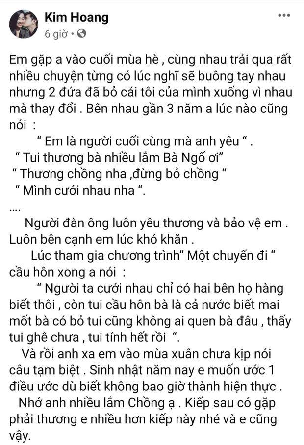 6 tháng sau khi diễn viên Hải Đăng qua đời, bạn gái xúc động gửi lời nhắn nhân ngày sinh nhật, nghe đến lời ước mà xót xa - Ảnh 2.
