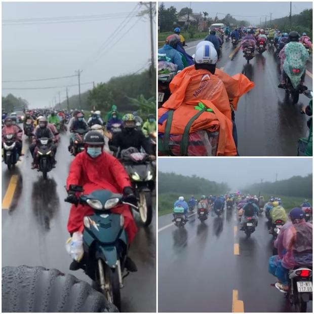 Hành trình 1400 km chạy xe máy từ miền Nam về quê của những người lao động nghèo tha hương - Ảnh 1.