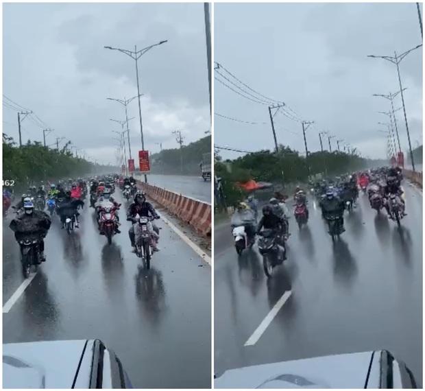 Xót xa cảnh người dân vạ vật chạy xe máy vượt hàng ngàn km về Nghệ An tránh dịch và những tấm phòng bì nghĩa tình khiến nhiều người ấm lòng - Ảnh 1.