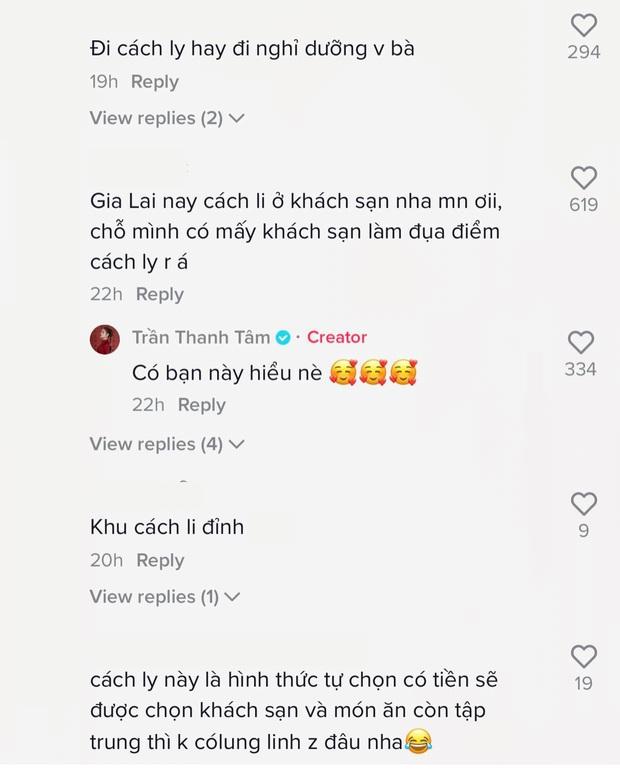 Hot girl trứng rán bắt trend TikTok đạt luôn 5 triệu view nhưng netizen chú ý nhất là không gian ở khu cách ly - Ảnh 6.