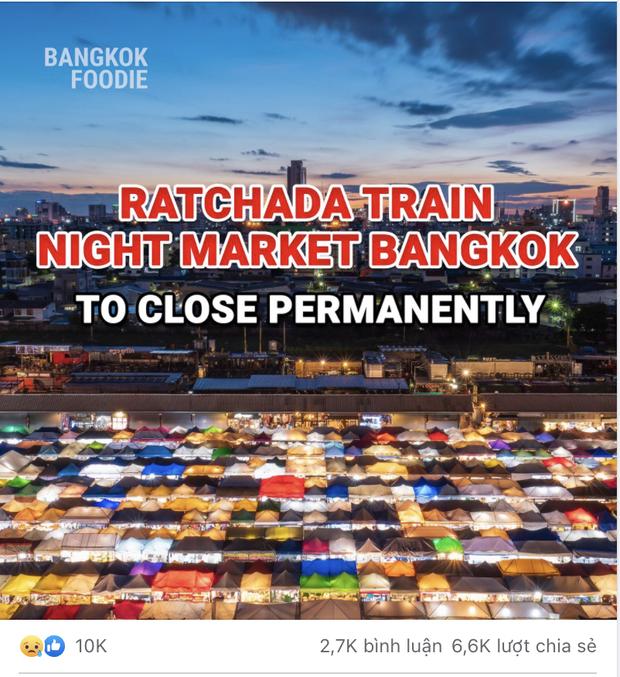 Rộ tin Chợ Đêm Xe Lửa nổi tiếng nhất nhì Thái Lan sẽ đóng cửa vĩnh viễn, tiểu thương kiệt quệ vì mất miếng cơm manh áo - Ảnh 1.