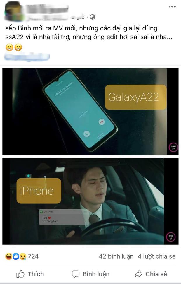 Cộng đồng mạng soi ra cục sạn to đùng trong MV mới của Lê Bảo Bình, điện thoại một đằng, tin nhắn một nẻo? - Ảnh 6.