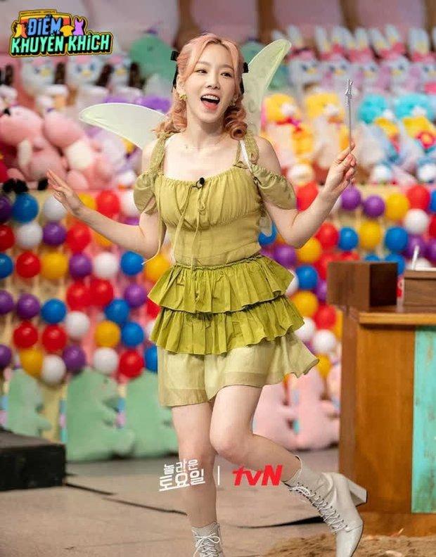 Với chiếc váy này, Taeyeon sẽ chỉ đem đến ác mộng chứ chẳng phải những điều ước của 1 bà tiên thực thụ - Ảnh 4.