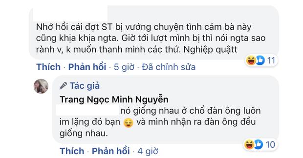 Lương Minh Trang so sánh chuyện ly hôn với drama tình ái Sơn Tùng: Nó giống nhau ở chỗ đàn ông luôn im lặng - Ảnh 2.