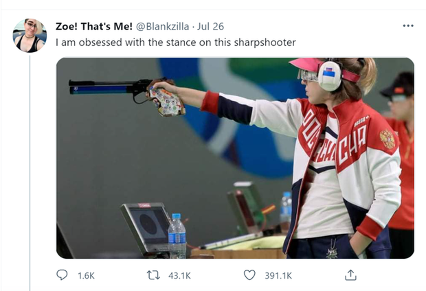 Nhà vô địch Olympic gây sốt bởi dáng bắn súng cực ngầu, dân tình nhìn xong lo cô nàng bị gãy tay - Ảnh 2.