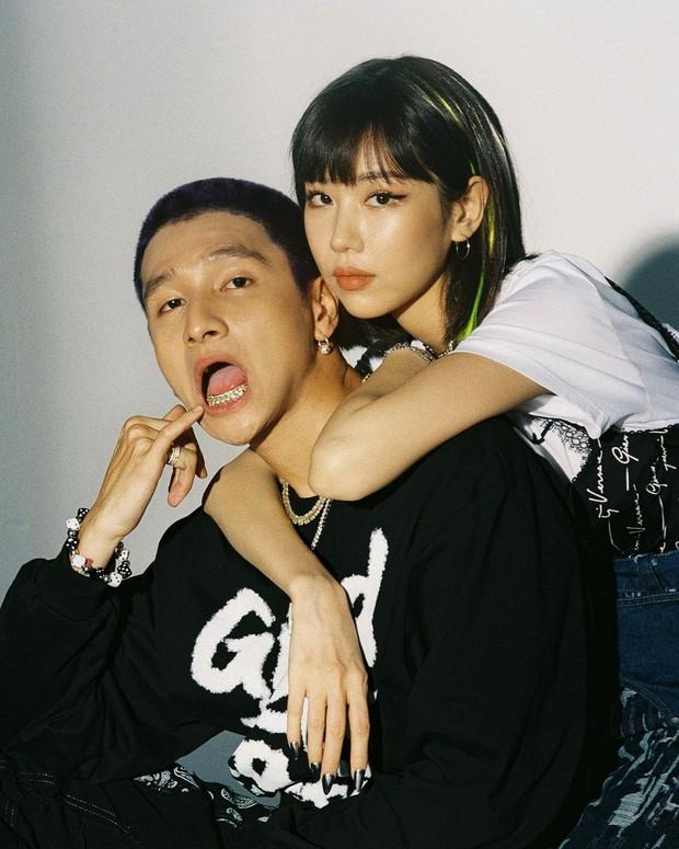 16 Typh rap chơi chơi thế nhưng sự chú ý của netizen tập trung vào chiếc nón đôi có tên của Min, lại tung hint hẹn hò nữa rồi! - Ảnh 6.