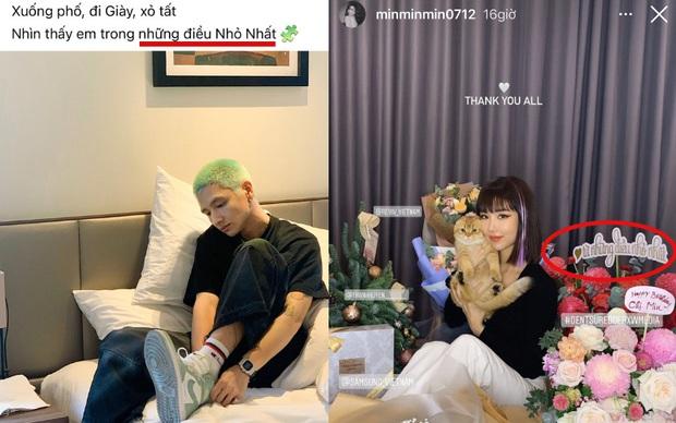 16 Typh rap chơi chơi thế nhưng sự chú ý của netizen tập trung vào chiếc nón đôi có tên của Min, lại tung hint hẹn hò nữa rồi! - Ảnh 7.
