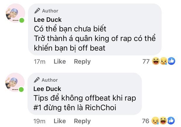 Trước khi chỉ trích King Of Rap cơ cấu rẻ tiền, RichChoi cũng từng bóc phốt Rap Việt khi bị loại ngay vòng gửi xe - Ảnh 14.