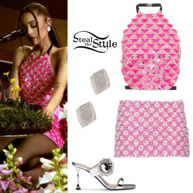 Tiện như Ariana Grande: Mua giỏ đi chợ có ngay bộ đồ, đã thế còn khéo chọn màu để fan gọi tên BLACKPINK - Ảnh 7.