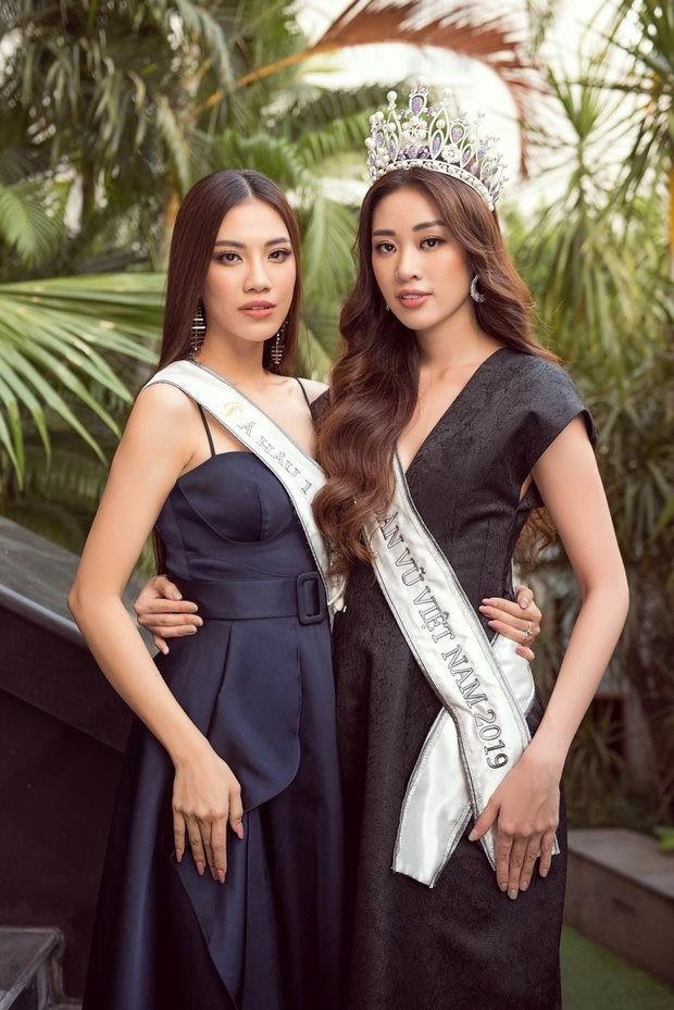 Tranh cãi phát ngôn của Kim Duyên khi nắm tay Khánh Vân tại chung kết Miss Universe 2019: Em kể một đằng, chị thuật lại 1 nẻo? - Ảnh 5.