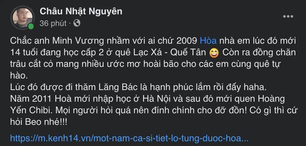 Hòa Minzy ngỡ ngàng với màn nhận nhầm người quen của Minh Vương M4U: Chưa từng gọi là chú hay yêu cháu trai anh Vương! - Ảnh 2.