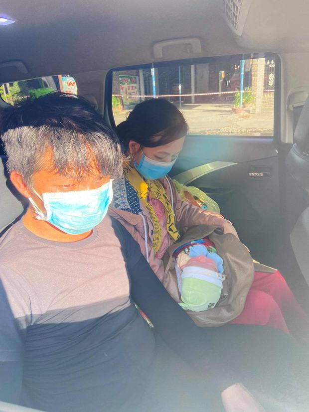Vợ chồng nghèo ôm con 9 ngày tuổi chạy xe máy hơn 1.000km từ miền Nam về quê tránh dịch - Ảnh 5.