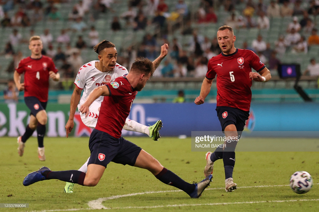 Đánh bại CH Séc, các đồng đội của Eriksen vào bán kết Euro 2020 - Ảnh 2.