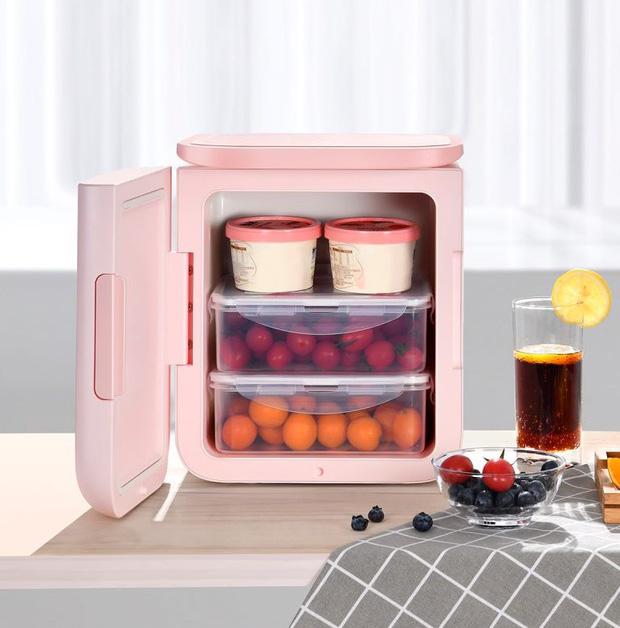 Thêm nhiều tủ lạnh mini mới cực yêu, nàng nào đang muốn tậu nhà cho mỹ phẩm thì nên nghía - Ảnh 5.