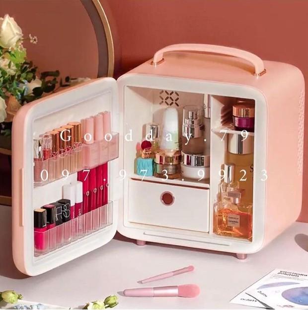 Thêm nhiều tủ lạnh mini mới cực yêu, nàng nào đang muốn tậu nhà cho mỹ phẩm thì nên nghía - Ảnh 13.