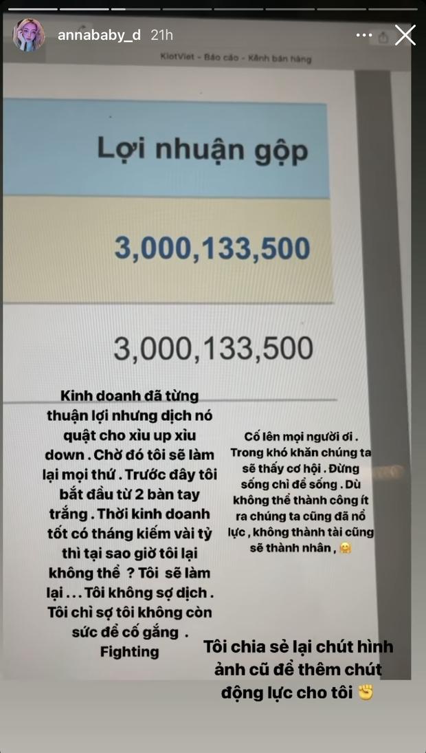 Trang Anna tiết lộ thu nhập trước dịch, con số 3 tỷ/tháng gây choáng váng - Ảnh 2.
