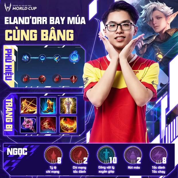 Cách build đồ, build ngọc cực mạnh của tuyển thủ AWC 2021, game thủ Liên Quân muốn leo rank cần học ngay! - Ảnh 1.