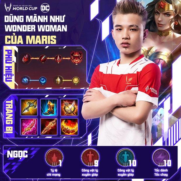 Cách build đồ, build ngọc cực mạnh của tuyển thủ AWC 2021, game thủ Liên Quân muốn leo rank cần học ngay! - Ảnh 5.