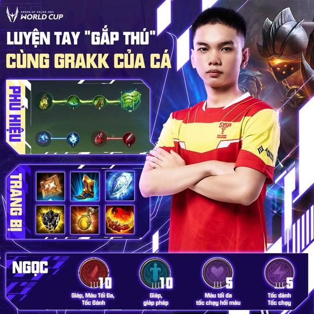Cách build đồ, build ngọc cực mạnh của tuyển thủ AWC 2021, game thủ Liên Quân muốn leo rank cần học ngay! - Ảnh 6.