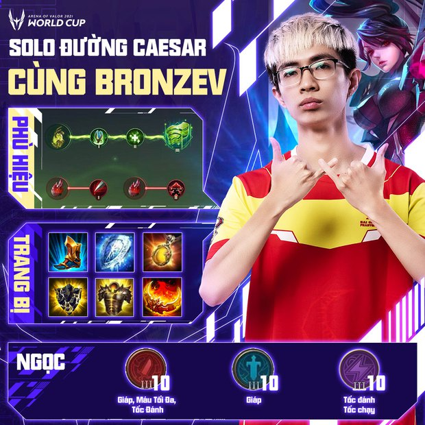 Cách build đồ, build ngọc cực mạnh của tuyển thủ AWC 2021, game thủ Liên Quân muốn leo rank cần học ngay! - Ảnh 7.