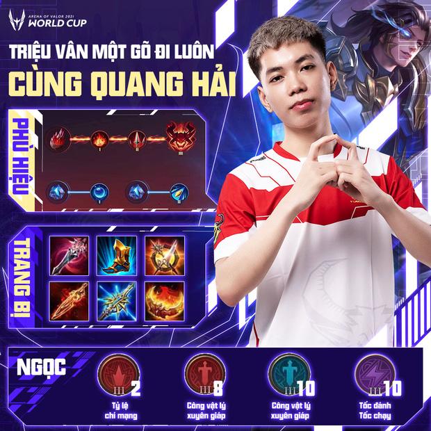 Cách build đồ, build ngọc cực mạnh của tuyển thủ AWC 2021, game thủ Liên Quân muốn leo rank cần học ngay! - Ảnh 8.