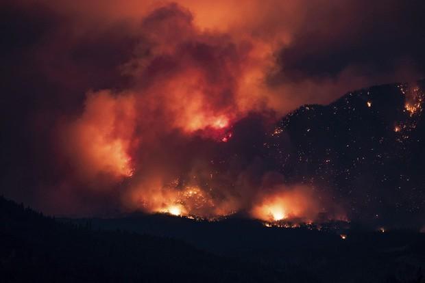 12.000 vụ sét đánh gây ra hơn 130 trận cháy rừng tại Canada - Ảnh 1.