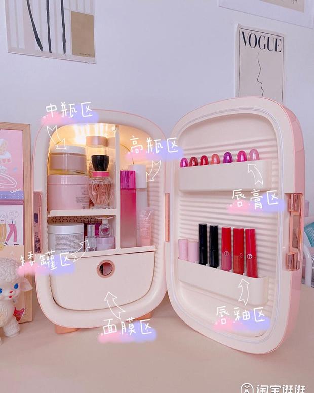 Thêm nhiều tủ lạnh mini mới cực yêu, nàng nào đang muốn tậu nhà cho mỹ phẩm thì nên nghía - Ảnh 11.