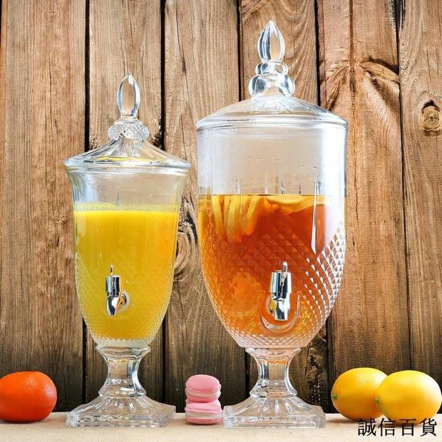 Chị em sắm bình thủy tinh có vòi cực tây này đi, uống nước gì cũng ngon hơn lại kiêm luôn món decor đẹp xịn  - Ảnh 5.