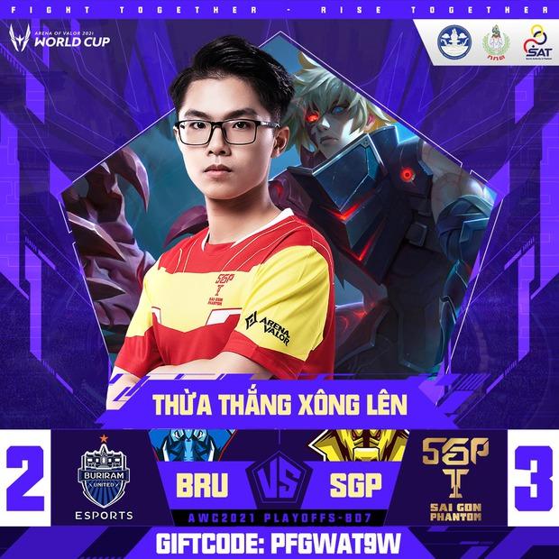 Saigon Phantom thắng thuyết phục Buriram, Lai Bâng gáy cực khét trên sóng livestream - Ảnh 2.