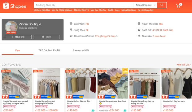 Loạt brand đồ gia dụng, mỹ phẩm tới shop quần áo thi nhau mở gian hàng trên sàn TMĐT: Mua hàng chuẩn giá tốt trên mạng giờ quá dễ! - Ảnh 4.