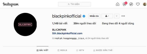 BLACKPINK cán mốc 39 triệu follower trên Instagram, nhưng chỉ xếp thứ 2 và đứng sau nhóm nhạc này! - Ảnh 3.