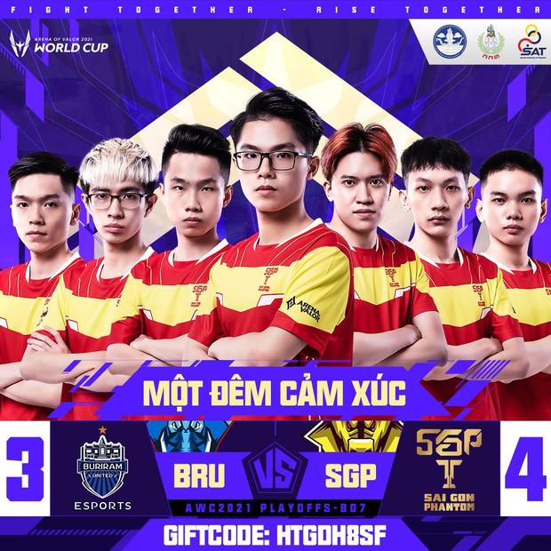 Nhìn lại chiến thắng đầy cảm xúc của Saigon Phantom trước người Thái, Việt Nam chính thức có đại diện top 4 đội mạnh nhất AWC 2021 - Ảnh 11.