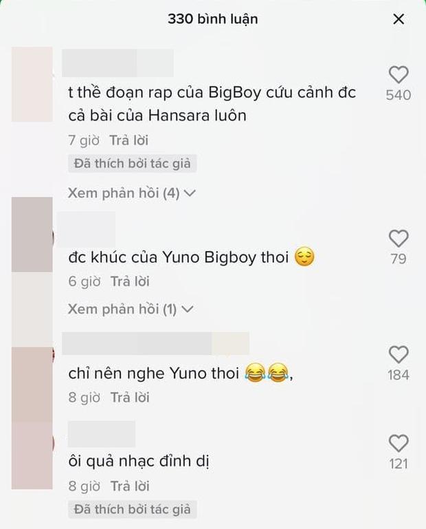 Rap về vấn đề giảm cân, Han Sara nhận gạch đá từ cư dân mạng vì lyrics quá buồn cười, Yuno Bigboi cứu cả màn trình diễn? - Ảnh 5.