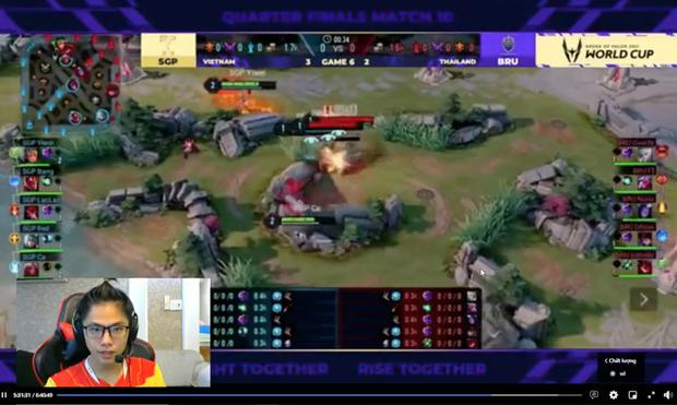 Saigon Phantom thắng thuyết phục Buriram, Lai Bâng gáy cực khét trên sóng livestream - Ảnh 3.