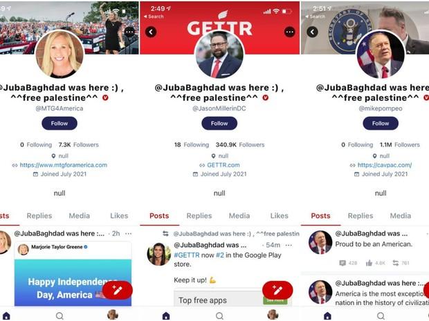 Mạng xã hội của ông Donald Trump vừa ra mắt đã bị hack, hacker để lại lời nhắn cực hài hước - Ảnh 2.