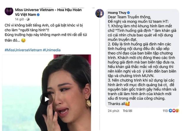 Netizen nhắn nhủ Hoàng Thùy: Trước đây fan chị bắt ê-kíp Miss Universe xin lỗi, giờ đến chị xin lỗi Lê Thanh Thảo đi chứ - Ảnh 1.