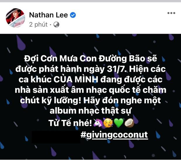 Nathan Lee tiếp tục chốt đơn mua ca khúc Cao Thái Sơn song ca Hương Tràm, ấn định luôn ngày ra mắt album - Ảnh 1.
